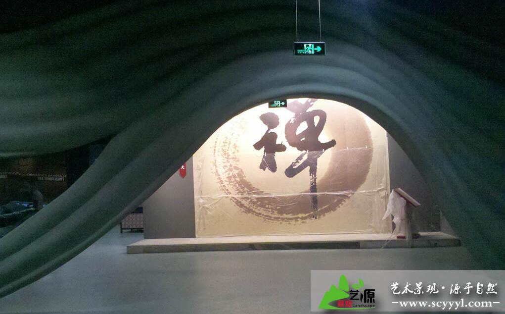 非物质文化博览产业园博物馆展厅场景布置