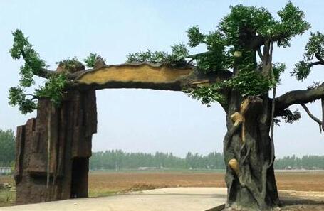 四川仿木假树