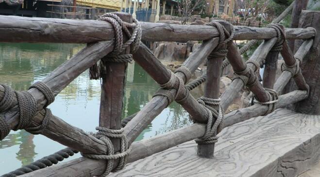 四川水泥仿木栏杆