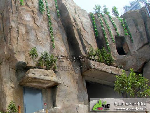 主题酒店外墙景观包装