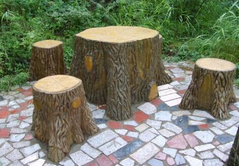 四川仿木凳施工