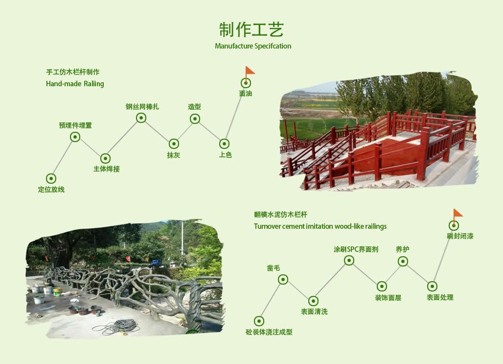 四川仿木栏杆制作工艺