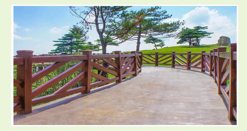 四川仿木栏杆展示