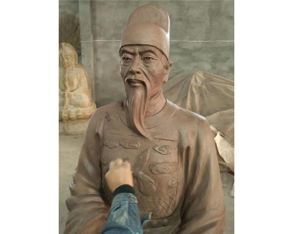 人物铜雕作品展示
