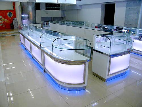 手机店玻璃展柜