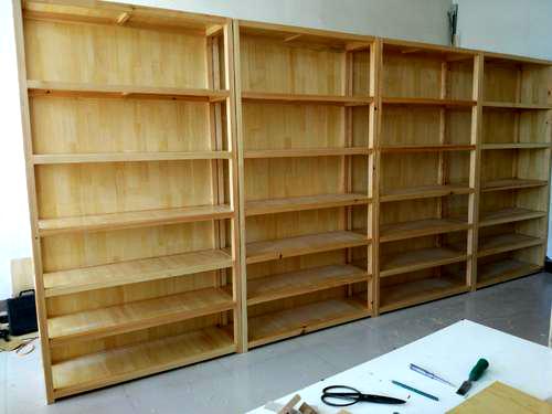 简易实木展柜