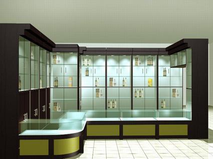 兰州玻璃展柜