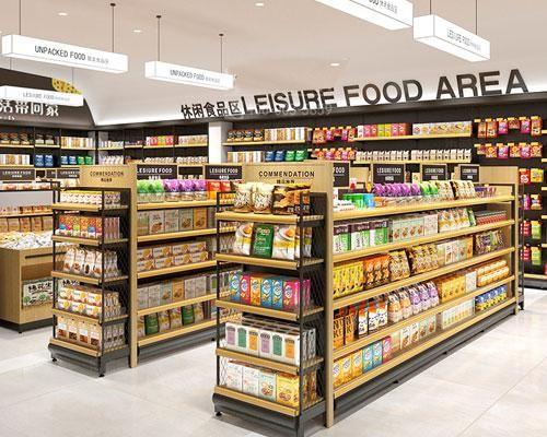 钢木超市货架的材质与产品特点