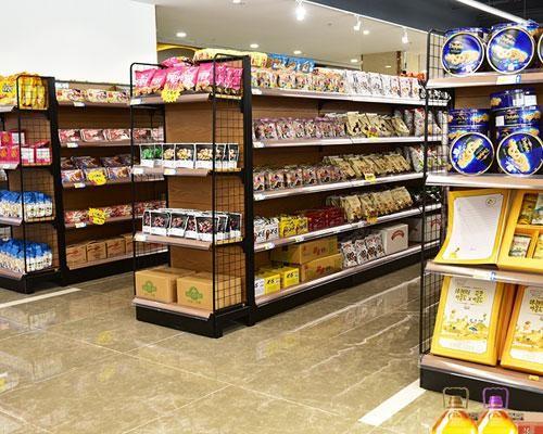 钢木超市货架的特点