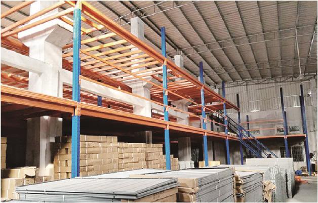 兰州货架厂家/众盛和货架厂家解析货架平台在货物存储中的特点