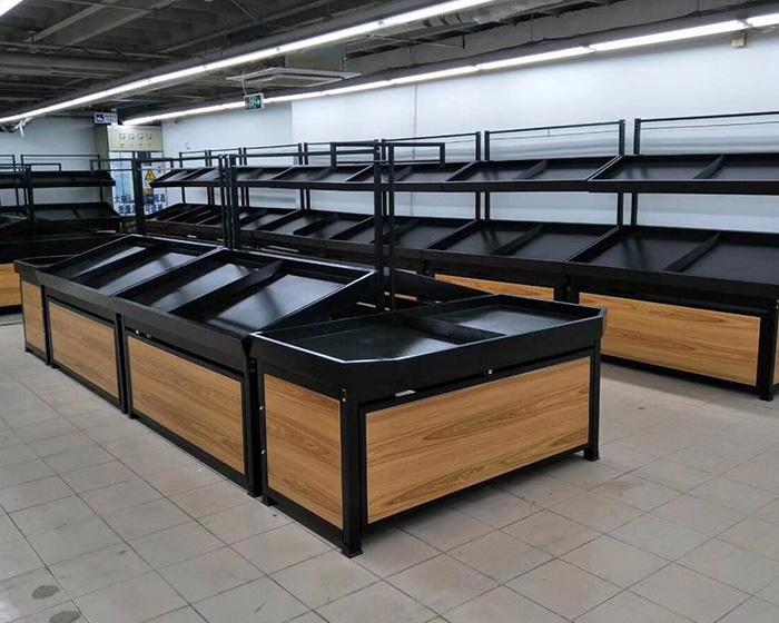 大型超市果蔬货架案例