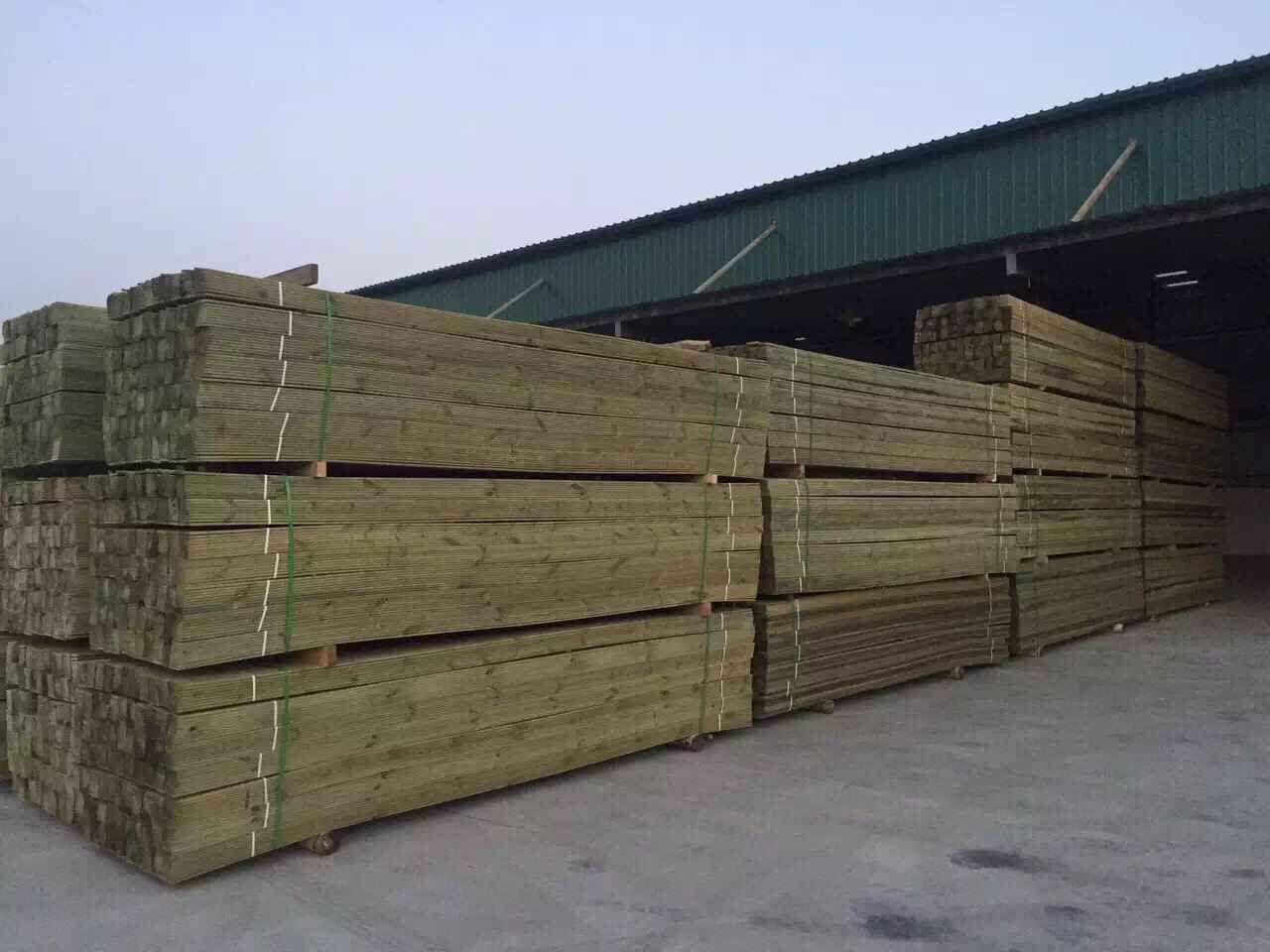 西安炭化木展示