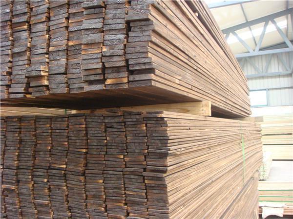 关于西安炭化木在外墙建设中的作用分享