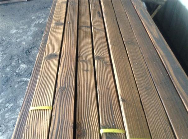 炭化木和深度炭化木是有区别的你不知道吧?快跟西安炭化木厂一起来看看