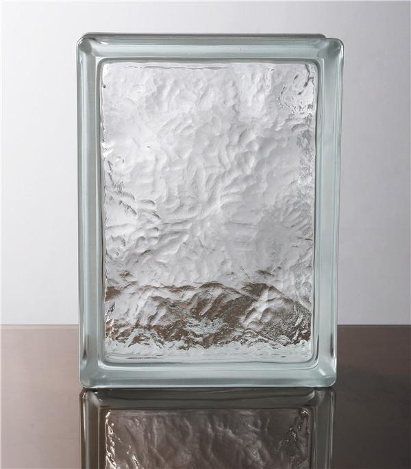 异型空心玻璃砖工厂-冰影纹