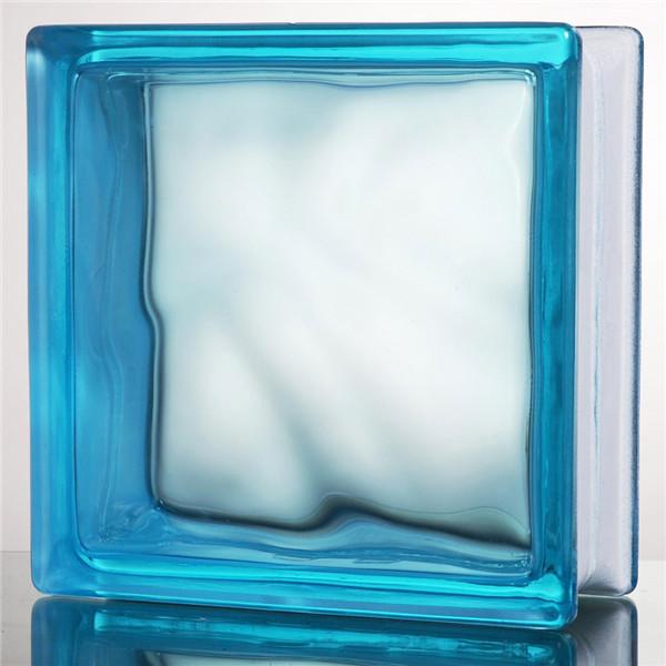 彩色空心玻璃砖