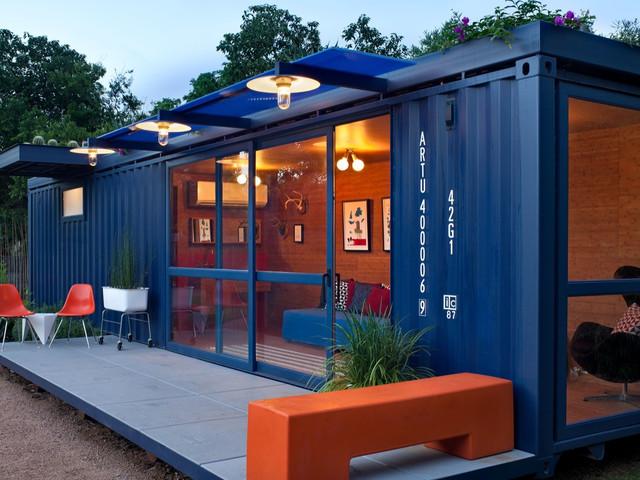 成都集装箱厂家关于建筑的特点和设计手法