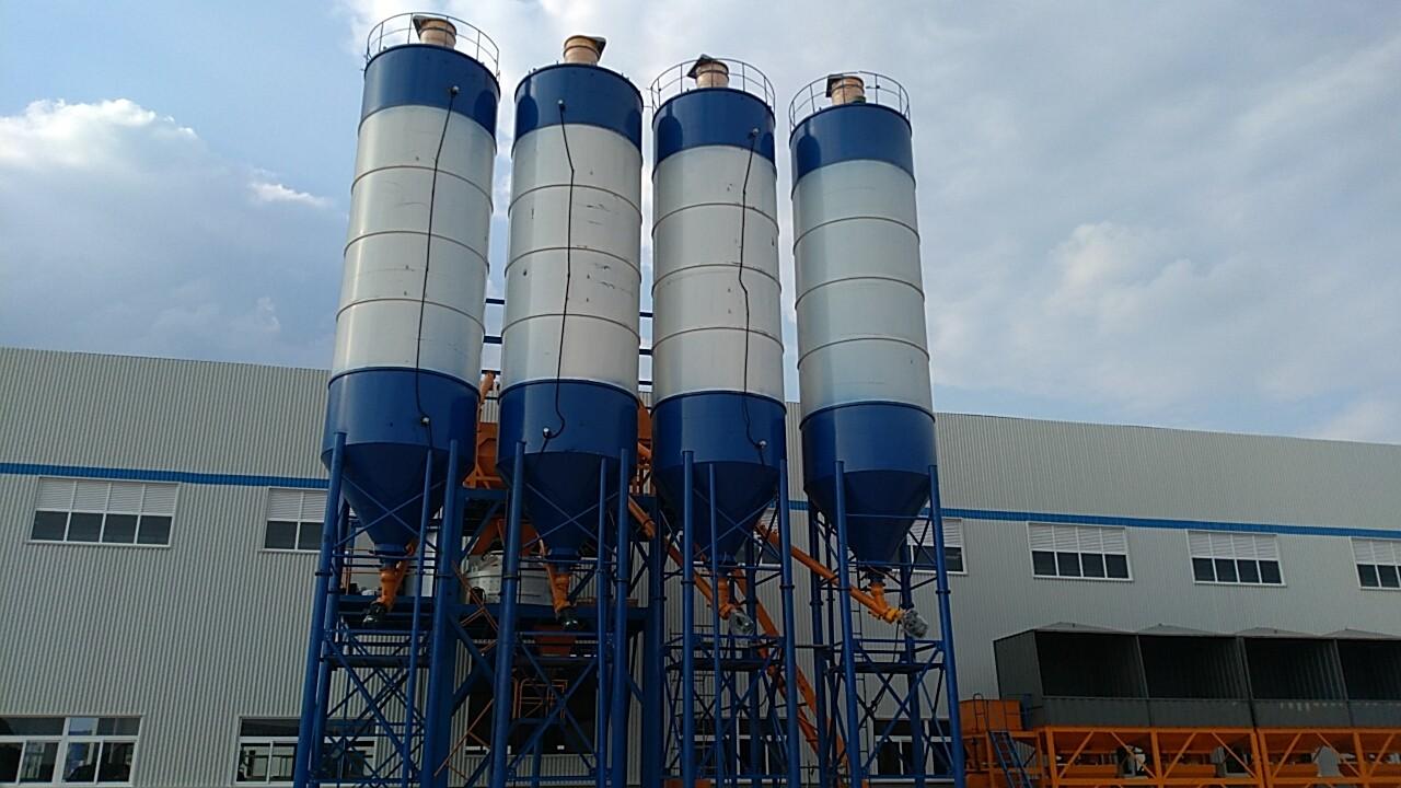 四川中电建RPC立轴搅拌生产线运行