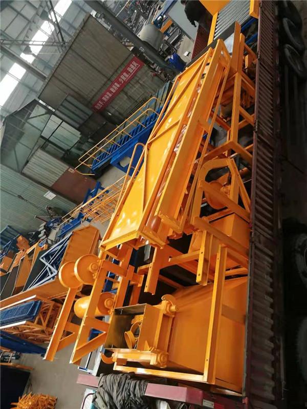 河南温县RPC盖板生产线设备发货了