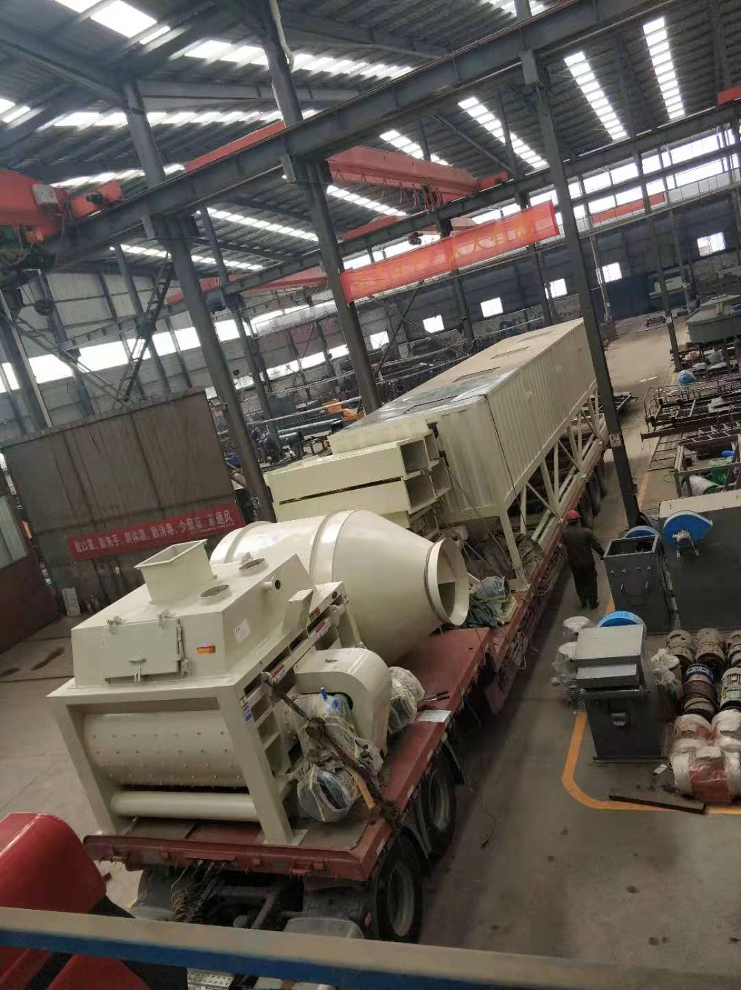 兰州RPC高铁盖板生产线设备发货啦