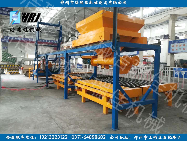 高铁RPC盖板预制构件生产线设备