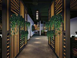 四川生态餐厅效果展示