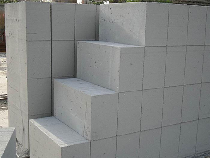蒸压加气混凝土砌块展示