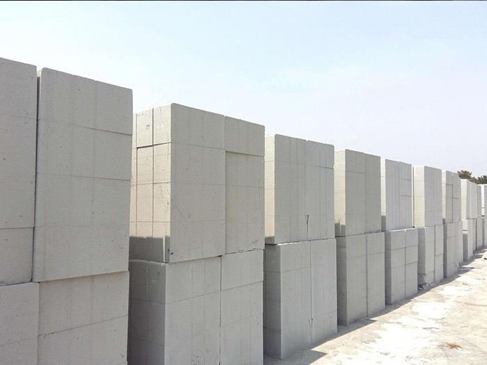 宁夏蒸压加气混凝土砌块图片展示