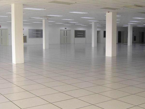 PVC防静电地板施工案例