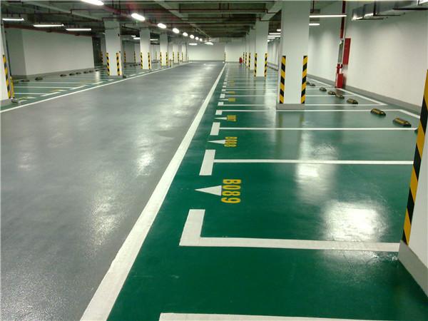 地下停车场停车位地坪