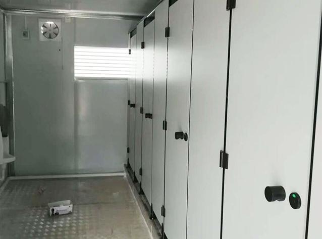 成都移动厕所安装工程案例