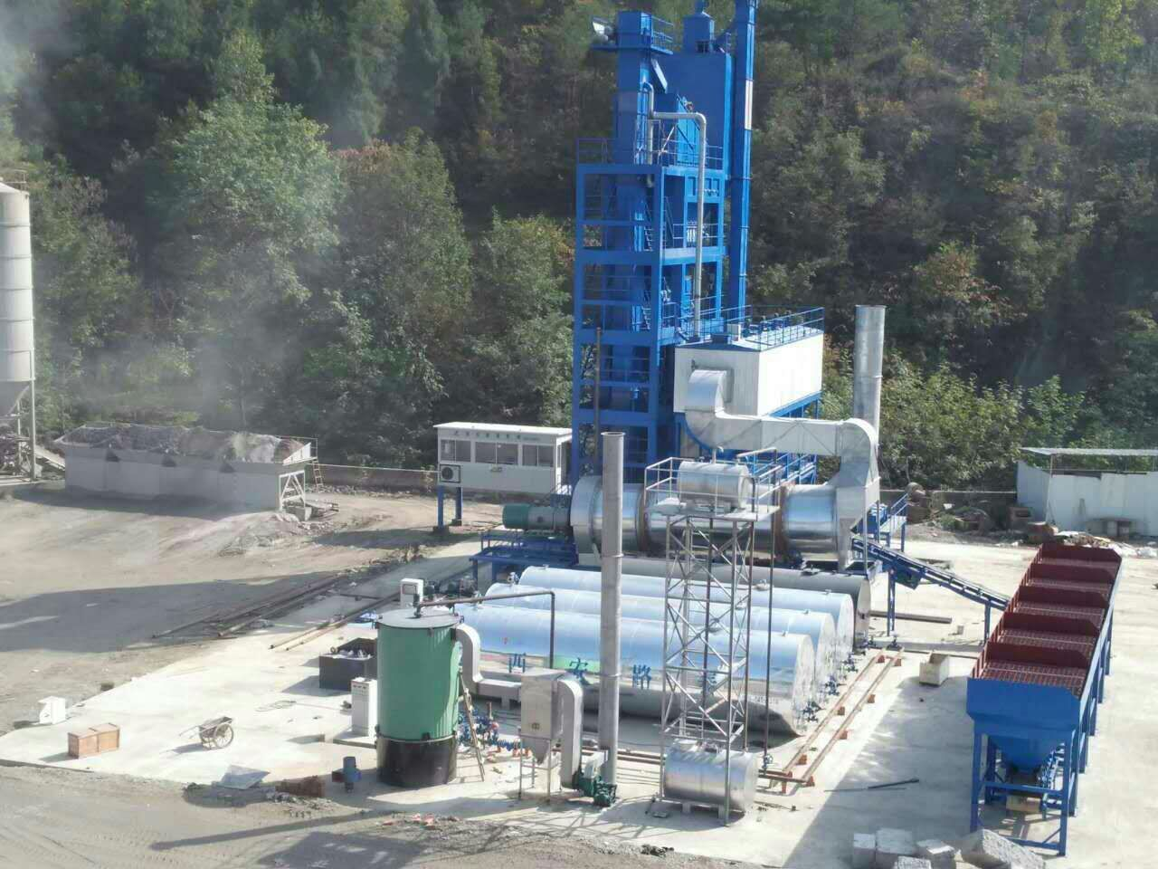 陕西环保型沥青搅拌站的出口前景