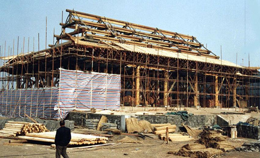 汉中古建施工案例