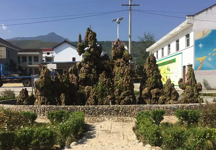 汉中假山制作