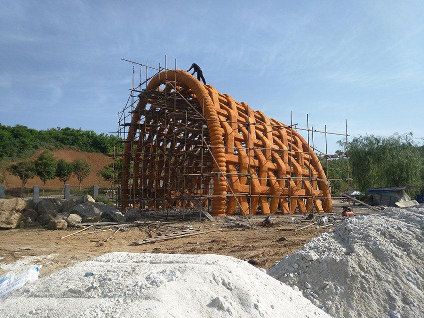 汉中雕塑施工案例