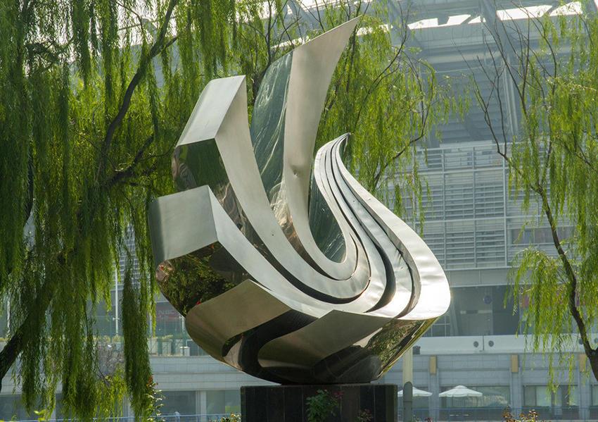 汉中不锈钢雕塑制作工程