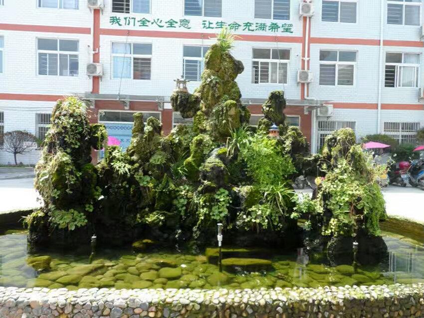 汉中假山工程