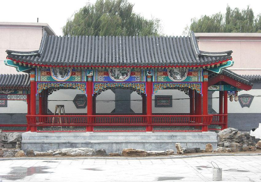 汉中古建施工