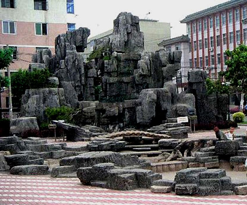汉中假山设计