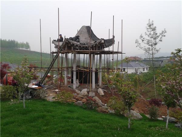 汉中远方景观做古建工程