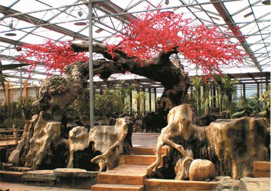 汉中水泥假树施工工艺流程
