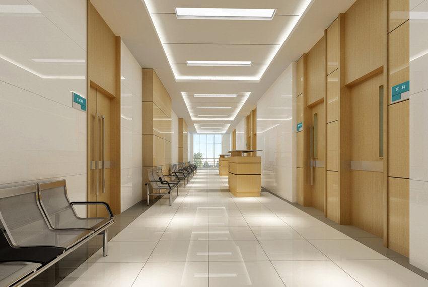 四川led照明案例—资阳第四人民医院室内照明