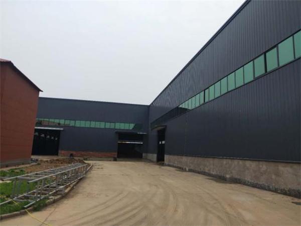 本公司承接漯河市联创科技公司厂房钢结构建设设计施工项目