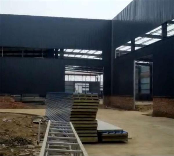 河市联创科技公司厂房钢结构加工设计施工项目4