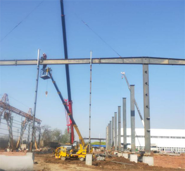 漯河市华昊建筑材料有限公司年产300万方混泥土厂房建设项目!