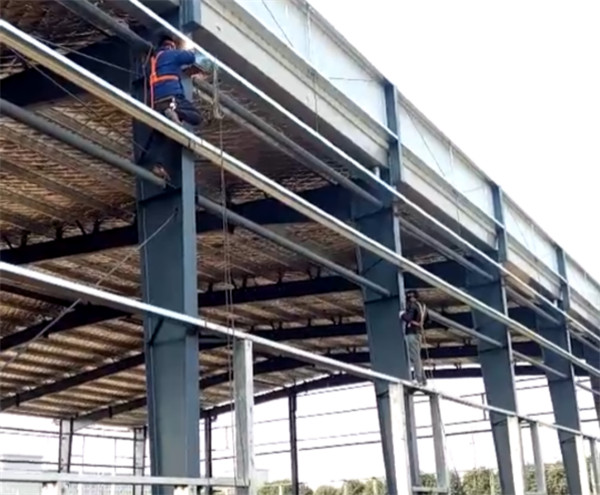 临颍产业集聚区无人机研发中心厂房钢结构建设项目