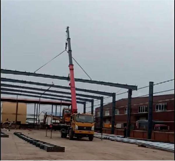 河市联创科技公司厂房钢结构加工设计施工项目3