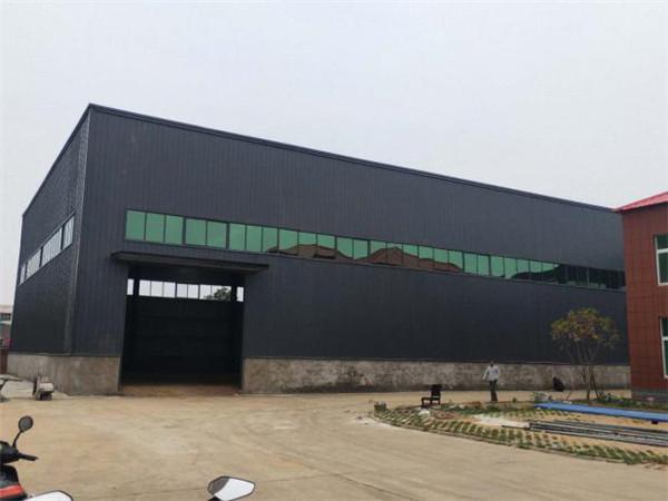 河市联创科技公司厂房钢结构加工设计施工项目2