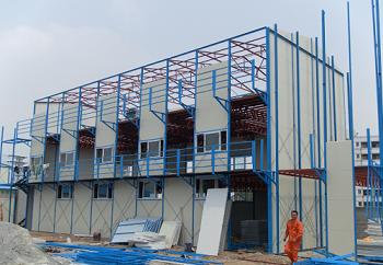 搭建成都活动板房所用材料有哪些?如何保证活动房搭建更安 全?