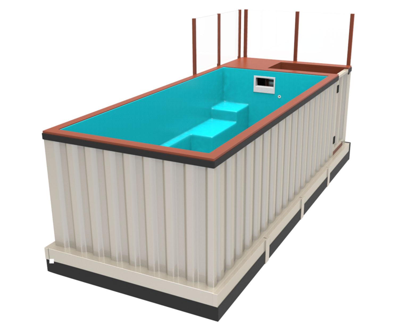 成都集装箱泳池